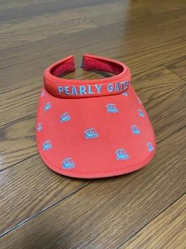 PEARLY GATES☆帽子☆レッド