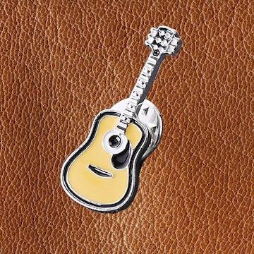 送料無料 アコースティックギター ピンズ ブローチ ピンバッジ アコギ