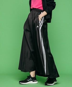 Adidasアディダス☆黒ロングスカート