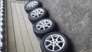 トヨタ・エスティマ純正アルミスタッドレス225/55R17