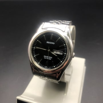 即決 REGUNO ソーラー 腕時計 E101-K005299