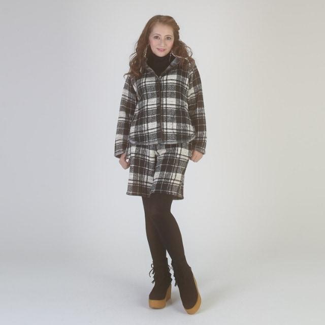 マダムミーナ 石井美奈子 フリンジデザイン ショートブーツ スエード 厚底 < 女性ファッションの