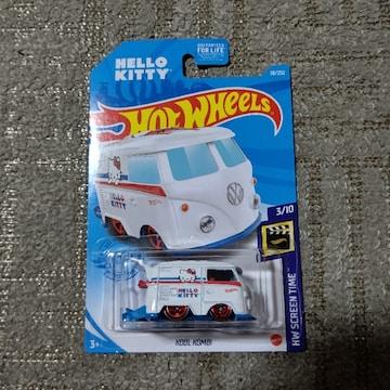 HW USカード '21 VW クールコンビ  キティ 未開封