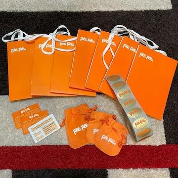 フォリフォリFolli Follieショップ袋7枚保存袋・カード3枚