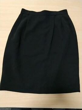 定番◆黒の膝丈タイトスカート◆63cm美品です!