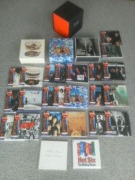 送料無料 ローリングストーンズ 22タイトル 紙ジャケ 特典非売品ボックス+CDセット
