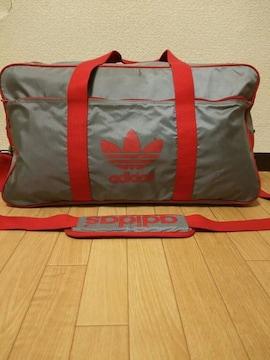 80s デサント製 adidas アディダス ナイロン バッグ
