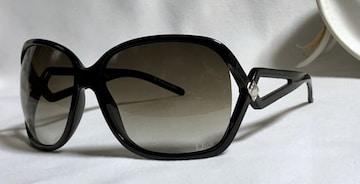 正規 Diorディオール ダイヤカットサングラス 黒×茶×シルバー 男女兼用 付属有