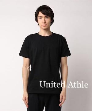 セール●United Athleユナイテッド●ポケット付きTシャツ●黒