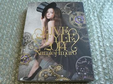 安室奈美恵/LIVE STYLE 2014【豪華盤:2DVD】初回仕様/他にも出品