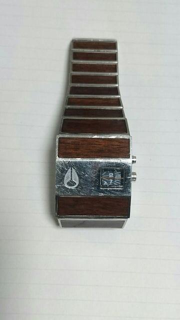 NIXON ニクソン ロトログ 木目 メンズ 腕時計 ROTOLOG 正規品  < ブランドの