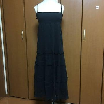ブラック ロングワンピース(〃ω〃)