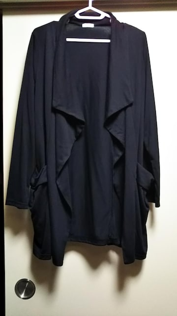 ☆前アシメ薄手ジャケット☆新品未使用羽織り  < 女性ファッションの