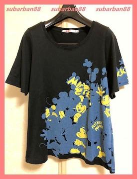 ☆ユニクロ☆美品レア♪隠れミッキーTシャツS☆