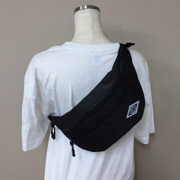 ウエストバッグ ボディバッグ 旅行 メンズ レディース 新品 黒