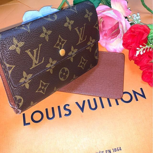 正規品LOUIS VUITTON人気のパスケース付3つ折り財布☆  < ブランドの