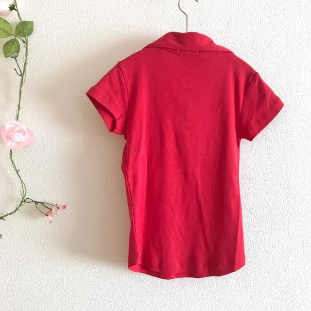 ★ 新品 ★ カットソー 柔らか生地 ポロシャツ < 女性ファッションの