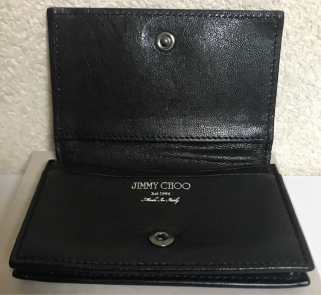 ジミーチュウ JIMMY CHOO ユニセックス カードケース < ブランドの