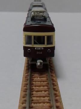 新品 /モデモの完成品/N/江ノ電300形304Fチョコ電塗装(M車) !