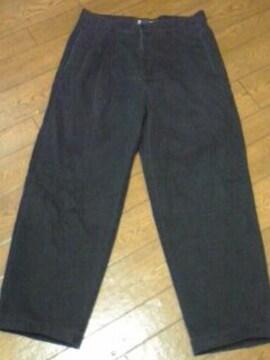 CRL ラルフローレン 黒パンツ 32×30