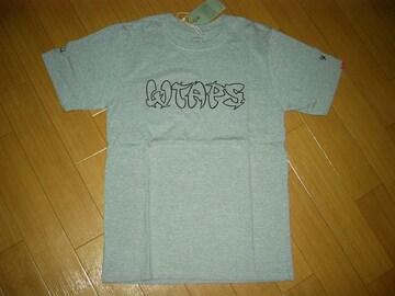 新品WTAPSダブルタップスTシャツ1灰ロゴカットソー