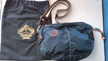 激安72%オフオロビアンコ、ボディバッグ、ショルダーバッグ(美品袋、紺、伊勢丹)