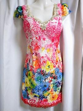 dazzy Queen 花柄レース ナイトドレス