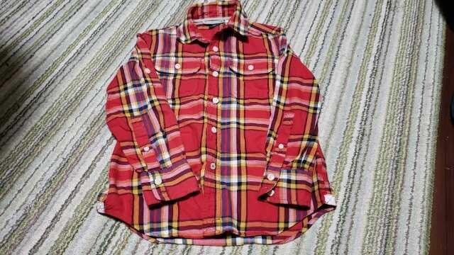 ★GapKids★チェックシャツ★サイズ120★  < ブランドの