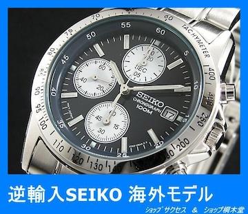 新品 即買い■セイコー SEIKO クロノグラフ 腕時計 SND365★人気