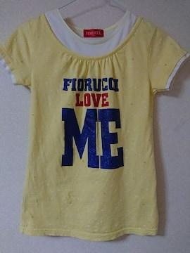 フィオルッチ☆半袖Tシャツ150FIORUCCIラメプリ