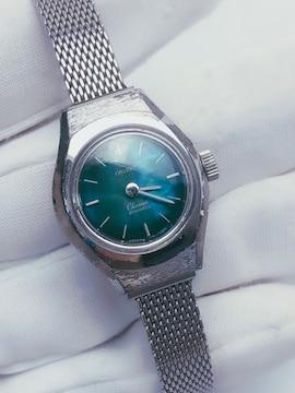T015 ORIENT オリエント 腕時計 手巻き 21石 レディース