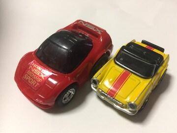 チョロQ・ホンダNSX、ちびっこホンダS800 (他も出品中)