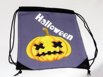 新品ハロウィン巾着リュックサック収納袋ナップサック