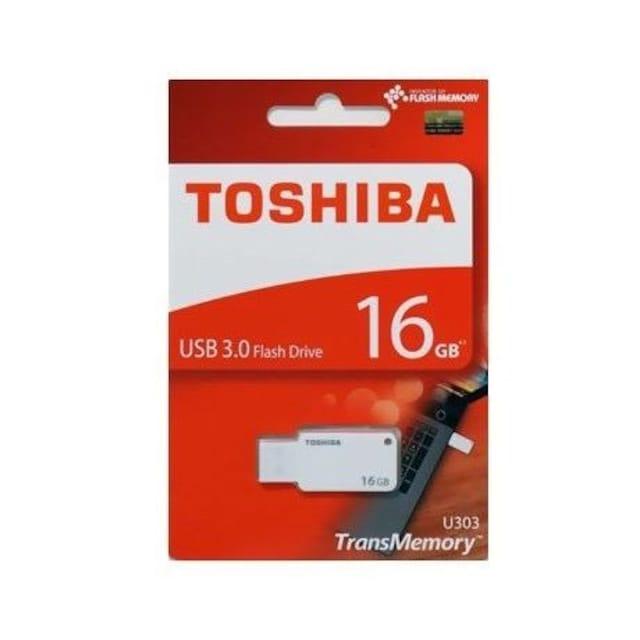 二個 東芝 フラッシュメモリー 16GB 3.0 THN-U303W0160A4  < PC本体/周辺機器の