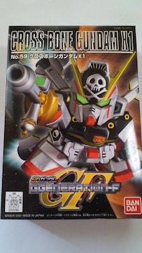 ガンダムBB戦士GF!クロスボーンガンダムX1!未組立