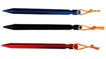 テント ペグ 18cm 13g アルミ 軽量 赤 青 黒 20本セット