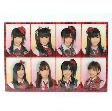 ○AKB48『ブックマーカー 1シート (8入り)』 未開封 指原莉乃 他
