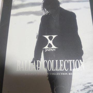 ベストCD X-JAPAN BALLAD COLLECTION 帯無し