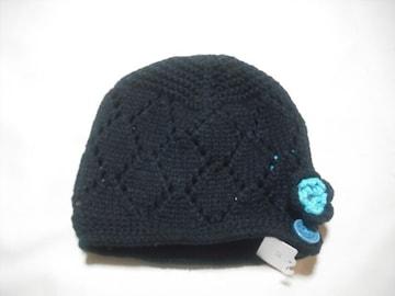wb175 女 BILLABONG ビラボン ニット帽 ブラック