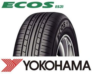 ★195/60R16 緊急入荷★ヨコハマ ECOS ES31 新品タイヤ 4本セット