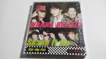 ショップ限定盤◆Kis-My-Ft2[WANNA BEEEE!!!/Shake It Up]◆未開封