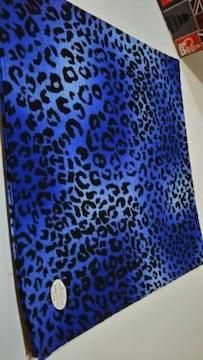 ◆新品◆バンダナ◆ヒョウ柄◆Black/Blue◆