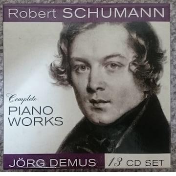 KF  シューマン Complete Piano Works  13CD