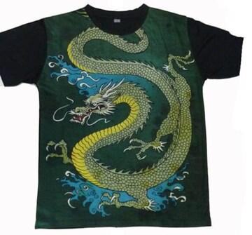 新品和柄 Tシャツ ストレッチフィット ストリートウエア #77