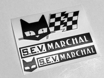 マーシャル MARCHAL ステッカー デカール ヘッドライト 色変更可