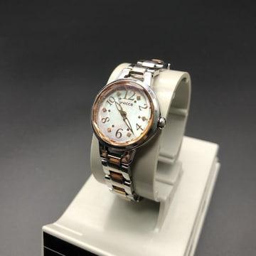 即決 wicca ソーラー 腕時計 E031-R004581