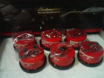ワンダ  名車コレクション  赤            全6種