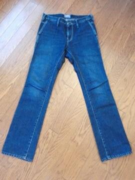 ブルーブルー BLUE BLUE ストライプデニム ハリウッドランチマーケット 日本製 W28
