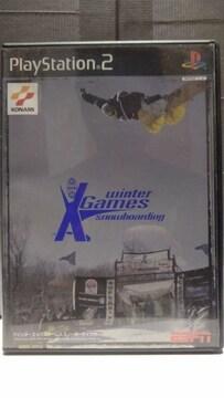 PS2 ウインターXゲームズ スノーボーディング