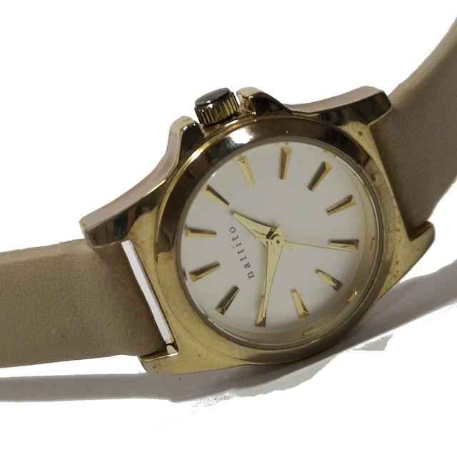 美品【980円〜】nattito アンティーク調 美しい腕時計 < 女性アクセサリー/時計の